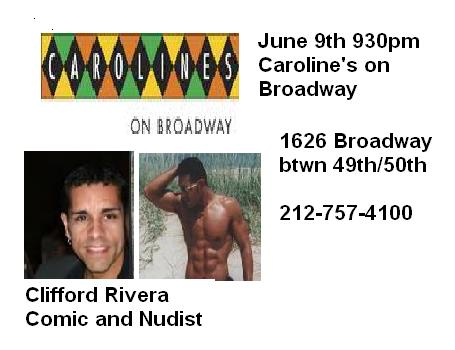 Carolines June 9th promo