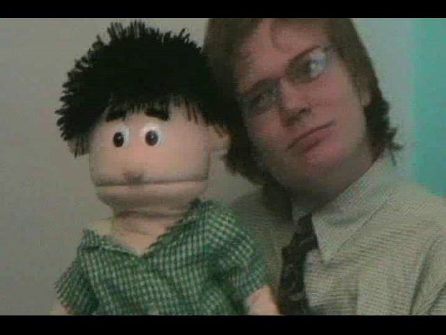 I was the voice for 'Sam' the puppet